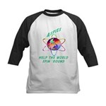 Aspies Spin the World Kids Baseball Jersey