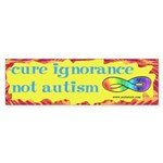 Cure Ignorance Sticker (Bumper 50 pk)