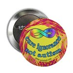 "Cure Ignorance 2.25"" Button (100 pack)"