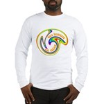 Cure Ignorance (Rainbow) Long Sleeve T-Shirt