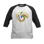 Cure Ignorance (Rainbow) Kids Baseball Jersey