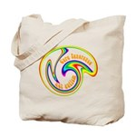 Cure Ignorance (Rainbow) Tote Bag