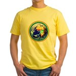 Autistic Planet Yellow T-Shirt