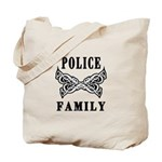 Police Family Tote Bag