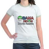 2up for America Jr. Ringer T-Shirt