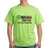 2up for America Green T-Shirt