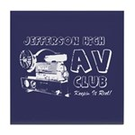 AV Club - Keepin It Reel! Tile Coaster