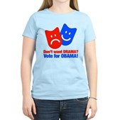 Vote Obama: No Drama! Women's Light T-Shirt