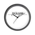 Minimal Princess Costume Wall Clock