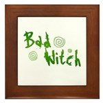 Bad Witch Framed Tile