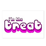 Retro I'm the Treat Postcards (Package of 8)