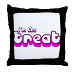 Retro I'm the Treat Throw Pillow