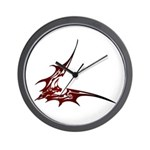 Vampire Bat 1 Wall Clock