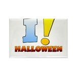 I ! Halloween Rectangle Magnet (100 pack)