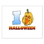 I Love Halloween Small Poster