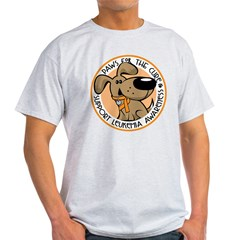 Paws for the Cure: Leukemia Light T-Shirt