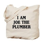 I Am Joe The Plumber Tote Bag