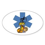 Thanksgiving EMS Sticker (Oval 50 pk)