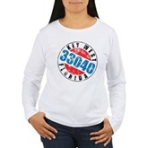 Vintage Key West 33040 Women's Long Sleeve T-Shirt