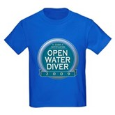 Open Water Diver 2009 Kids Dark T-Shirt