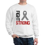 Brain Cancer Fight Strong Sweatshirt