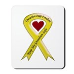 Keep My Grandson Safe Ribbon OIF Mousepad