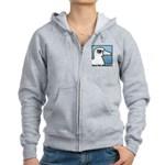 Save the Albatross (close-up) Women's Zip Hoodie