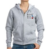 B is for Birdorable Women's Zip Hoodie