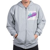 You Can't Handle the Truthiness Zip Hoodie