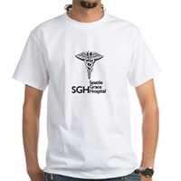 Seattle Grace Hospital White T-Shirt