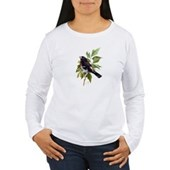 Rose-breasted Grosbeak Women's Long Sleeve T-Shirt
