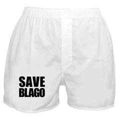 Save Illinois Governor Blagojevich, he's innocent! Boxer Shorts