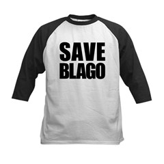 Save Illinois Governor Blagojevich, he's innocent! Kids Baseball Jersey