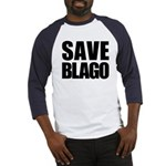 Save Illinois Governor Blagojevich, he's innocent! Baseball Jersey
