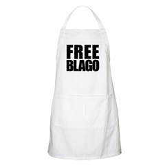 Free Illinois Governor Blagojevich, he's innocent! Apron