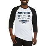 Air Force Nephew Defending Baseball Jersey