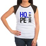 Hope Cure Colon Cancer Women's Cap Sleeve T-Shirt