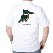 Green Kingfisher Golf Shirt