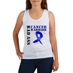 BadAss ColonCancerWarrior Women's Tank Top