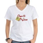 Stagette Women's V-Neck T-Shirt
