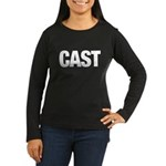 Cast Member T-Shirts Women's Long Sleeve Dark T-Shirt