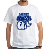 I Want Rush to Fail White T-Shirt