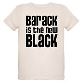 Barack is the New Black Organic Kids T-Shirt