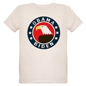 Obama-Biden Eagle Organic Kids T-Shirt