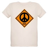 Peace Ahead Organic Kids T-Shirt