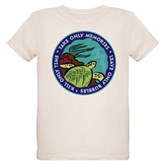 Take Only Memories (turtle) Organic Kids T-Shirt