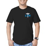 LPN Symbol Men's Fitted T-Shirt (dark)