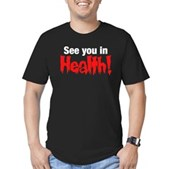 See You In Health! Men's Fitted T-Shirt (dark)