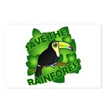 Save the Rainforest Postcards (Package of 8)