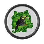 Save the Rainforest Large Wall Clock